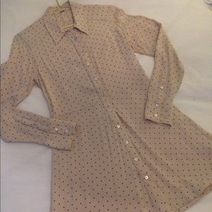 Free People button down tunic/ dress. Size small